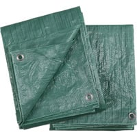 Ironton 2-Pack of Green Poly Tarps — 10ft. x 12ft.