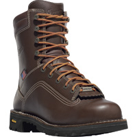 FREE SHIPPING — Danner Quarry 8in. Waterproof Alloy Toe Work Boots — Brown, Model# 173077D