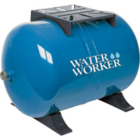 Water Worker Horizontal Pre-Charged Water Tank — 20-Gallon Capacity, Equivalent to a 42-Gallon Tank, Model# HT-20HB