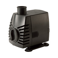 Pond Boss Large Fountain Pump — 1/2in. and 3/4in. Tubing, 525 GPH, 7-Ft. Max. Lift, Model# PF525