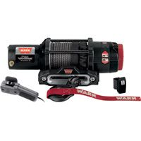 Warn ProVantage 4500 Series 12 Volt DC Powered Electric ATV Winch — 4500-Lb. Capacity, Synthetic Rope, Model# 90451