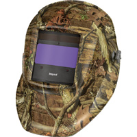 Hobart Impact Series Auto-Darkening Welding Helmet with Grind Mode — Mossy Oak Camo, Model# 770752