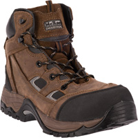 McRae Men's Industrial 6in. Composite Toe EH Lace-Up Work Boots — Brown, Model# MR83324