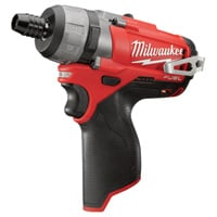 FREE SHIPPING — Milwaukee M12 FUEL Cordless Screwdriver — Tool Only, 1/4in. Hex, 2-Speed, 12 Volt, Model# 2402-20