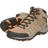 Wolverine Men's Grayling Waterproof Soft Toe 6in. Hiker — Taupe/Orange, Model# W20328