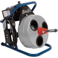 FREE SHIPPING — Electric Eel 75ft. Electric Drain Cleaner, Model# EK-P-3/8IC75