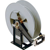 Liquidynamics Large-Capacity Spring Rewind Hose Reel for DEF Fluid, Model# 88402DEF-50