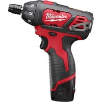 FREE SHIPPING — Milwaukee M12 Cordless Subcompact Driver — 12 Volt, 1/4in., Model# 2401-22