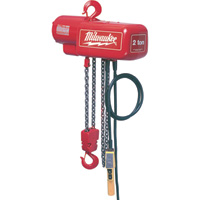 Milwaukee Professional Electric Chain Hoist — 2-Ton Capacity, 15ft. Lift, Model# 9572