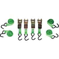 SmartStraps Standard Ratchet Tie-Downs — 1in. x 14ft. Each, 4 Pack, 900-Lb. Breaking Strength, Model# 126