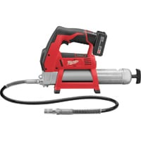 Milwaukee Cordless Grease Gun Kit — 12V, 8000 PSI, Model# 2446-21XC