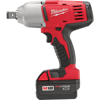 FREE SHIPPING — Milwaukee M18 Cordless High-Torque Impact Wrench — 3/4in., 525 Ft.-Lbs. Torque, Model# 2664-22