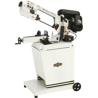 FREE SHIPPING — SHOP FOX Metal Cutting Band Saw — 5in. x 6in., 1/2 HP, 110/220V, Model# M1013
