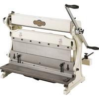 FREE SHIPPING — SHOP FOX 3-in-1 Combination Sheet Metal Machine — 24in., Model# M1042
