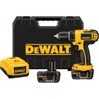 FREE SHIPPING — DEWALT Compact Cordless Drill/Driver Kit — 18 Volt, 1/2in., Model# DCD760KL