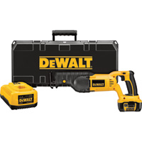 FREE SHIPPING — DEWALT Cordless Reciprocating Saw Kit — 18V, Model# DCS385L