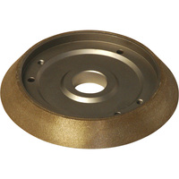 FREE SHIPPING — Darex Replacement Borazon Electroplated Wheel — 180 Grit, Model# PP16050GF