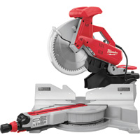 FREE SHIPPING — Milwaukee Dual-Bevel Sliding Compound Miter Saw — 15 Amp, 12in., Model# 6955-20
