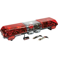 Wolo Infinity 1 48in. Halogen Light Bar – Red Lens, Model# 7010-R