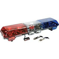 Wolo Infinity 1 48in. Halogen Light Bar – Blue & Red Lens, Model# 7015-BR