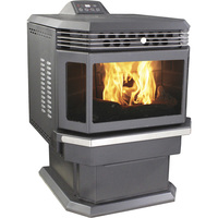 United States Stove Company Bay Front Pellet Stove — 48,000 BTU, Model# 5660