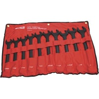 Ironton Jumbo Wrench Set — 10-Pc., SAE