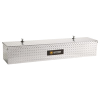 Northern Tool + Equipment Flush-Mount Truck Tool Box — Diamond Plate Aluminum, 70in.