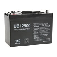 UPG Sealed Lead-Acid Battery — AGM-type, 12V, 90 Amps, Model# UB12900