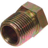 Apache Reducer Bushing — 1/2in. M NFPT x 1/4in. M NFPT