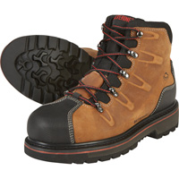 Wolverine Men's Hacksaw 6in. Waterproof Steel Toe Boots — Brown, Model# W10263