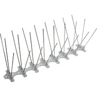 Bird-B-Gone Bird Spikes — Stainless Steel, 50ft.L x 5in.W, Model# NT2001-5-50
