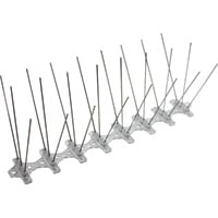 Bird-B-Gone Bird Spikes — Stainless Steel, 8ft.L x 5in.W, Model# NT2001-5-08