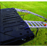 Extreme Max Aluminum Loading Ramp Set & Bed Extender Combo — 1,500-Lb. Capacity, 7 1/2Ft., Model# NR002N
