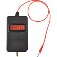 Ironton Digital Battery Voltage Meter — LED Readout