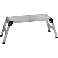 Ironton Extra-Large Folding Work Platform — 225-Lb. Capacity, 40in.L x 15in.W x 19 5/8in.H