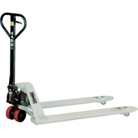 Roughneck Low-Profile Pallet Truck — 4,400-Lb. Capacity