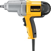 FREE SHIPPING — DEWALT Heavy-Duty Impact Wrench with Hog Ring Anvil — 1/2in. (13mm), Model# DW293