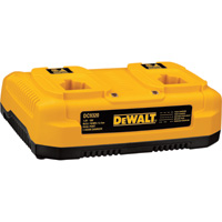 FREE SHIPPING — DEWALT Ni-Cd/Ni-MH/Li-Ion Dual Port Charger, 7.2V–18V, Model# DC9320