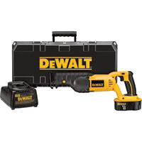 FREE SHIPPING — DEWALT XRP Ni-Cd Cordless Reciprocating Saw — 3000 SPM, 18 Volt, Model# DC385K