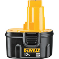 FREE SHIPPING — DEWALT XRP Battery — 12 Volt, Model# DC9071