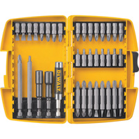 FREE SHIPPING — DEWALT Tough Case Screwdriving Set — 37-Pc., Model# DW2163
