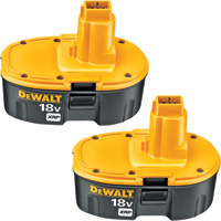 FREE SHIPPING — DEWALT 18V XRP Battery Combo Pack, Model# DC9096-2