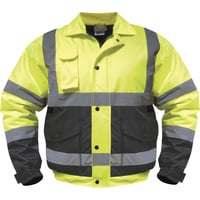 Utility Pro Wear High-Visibility Bomber Jacket — Class 3, Model# UHV562