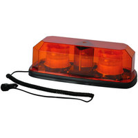 Ultra-Tow LED Light Bar — Amber, Magnetic/Permanent Mount