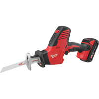 FREE SHIPPING — Milwaukee M18 Cordless Hackzall Reciprocating Saw Kit with Compact Li-Ion Battery — 18 Volt, Model# 2625-21CT