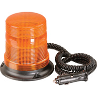Ironton Strobe Beacon Warning Light — Amber, Magnetic Mount