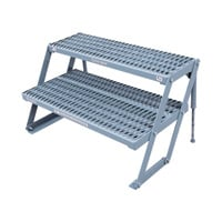 Cotterman 2-Step Adjustable Work Platform — 800-Lb. Capacity, 13-21in.H, Model# 2AWP3612A3 A1321 C1P6