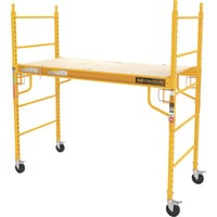 Metaltech Multipurpose 6ft. Baker-Style Scaffold — 1000-Lb. Capacity, Steel, Model# I-CISC