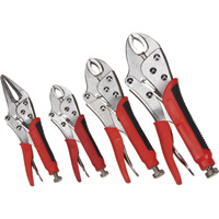 Ironton 4-Pc. Locking Pliers Set