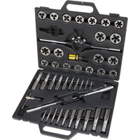 Klutch Tungsten Tap & Die Set — 45-Pc., Metric